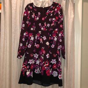 Fall color dress
